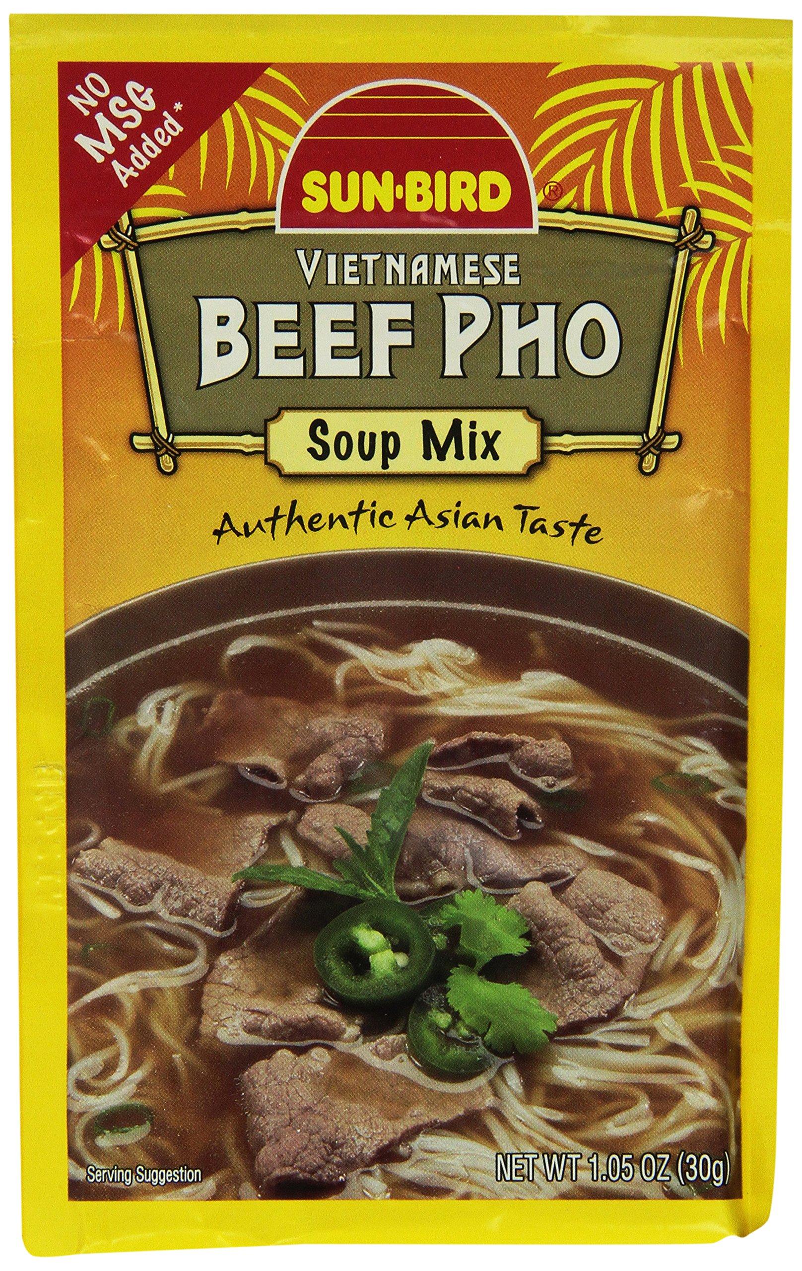 Sunbird Mix Soup Beef Pho by Sun Bird