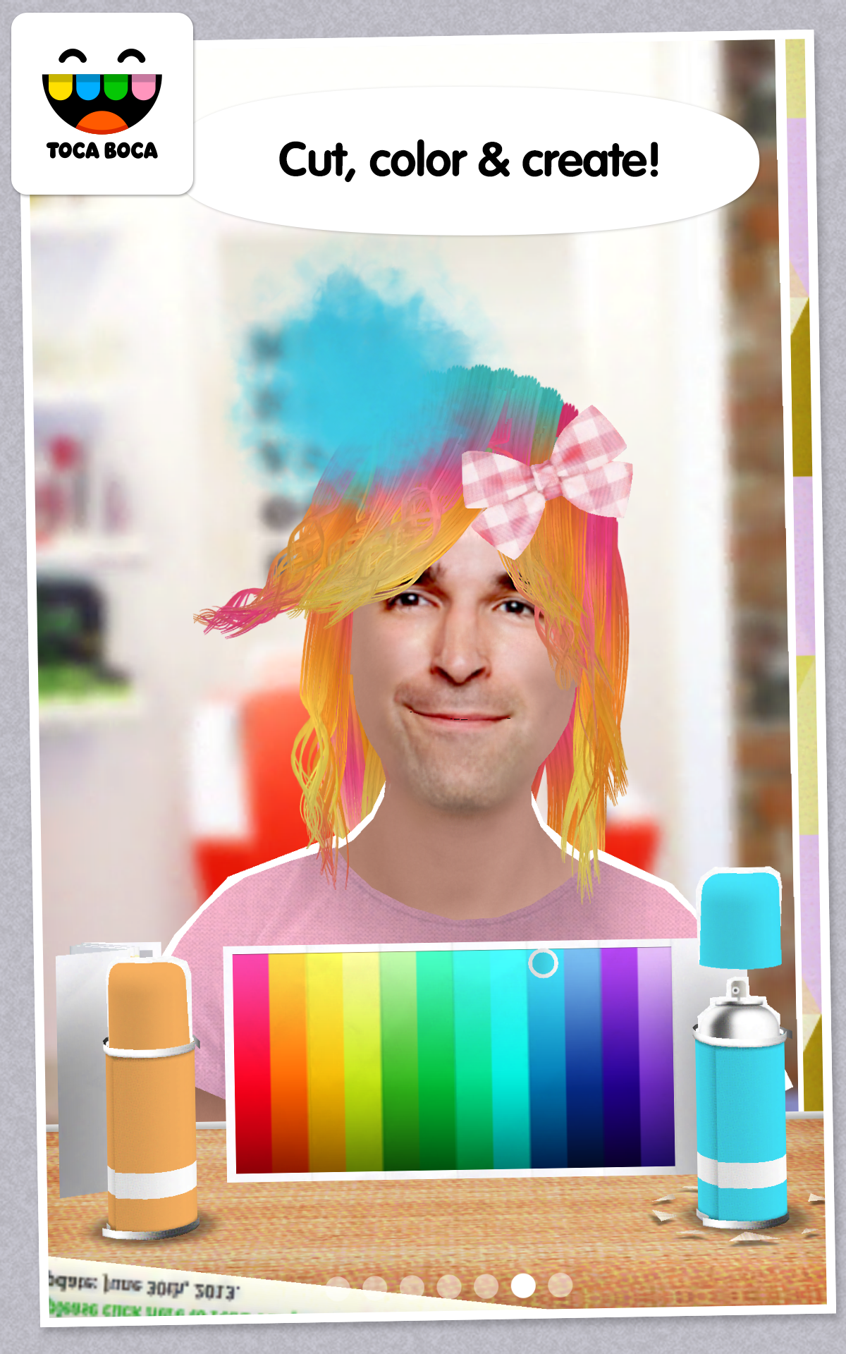 Toca hair salon me appstore for android - Toca hair salon game ...