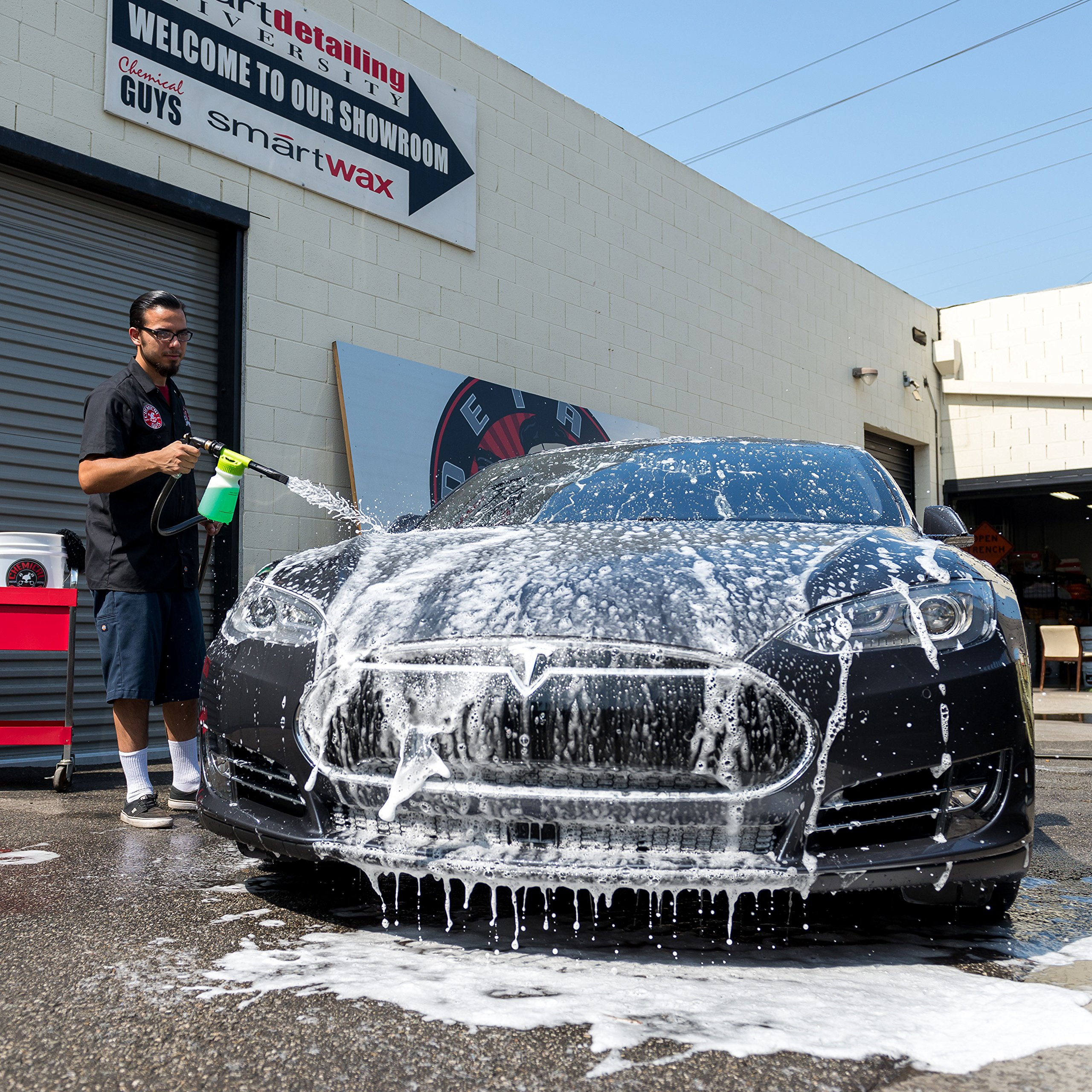 Chemical Guys Acc_326 - TORQ Foam Blaster 6 Foam Wash Gun - The Ultimate Car Wash Foamer That Connects to Any Garden Hose by Chemical Guys (Image #3)