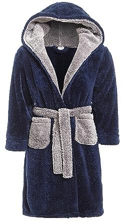 Slumber Hut Garçons Robe De Chambre Luxe Chaud Polaire