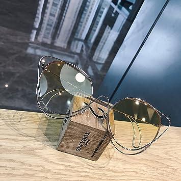VVIIYJ Gafas de Sol CatS Eye Gafas de Sol graduadas súper ...