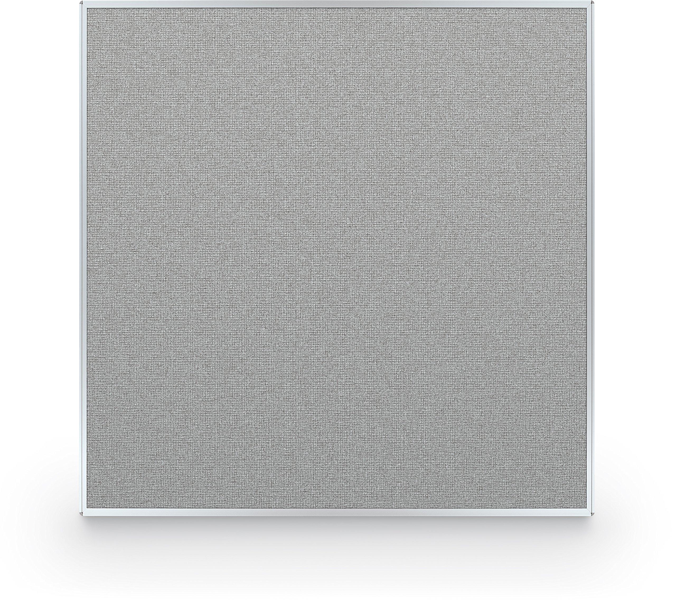 Best-Rite 60 x 60 Inch Standard Modular Divider Panel, Gray Fabric Panel, (66217-88)