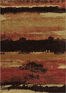 """product image for Orian Rugs Wild Weave Canyon Rouge Area Rug, 7'10"""" x 10'10"""", Red"""
