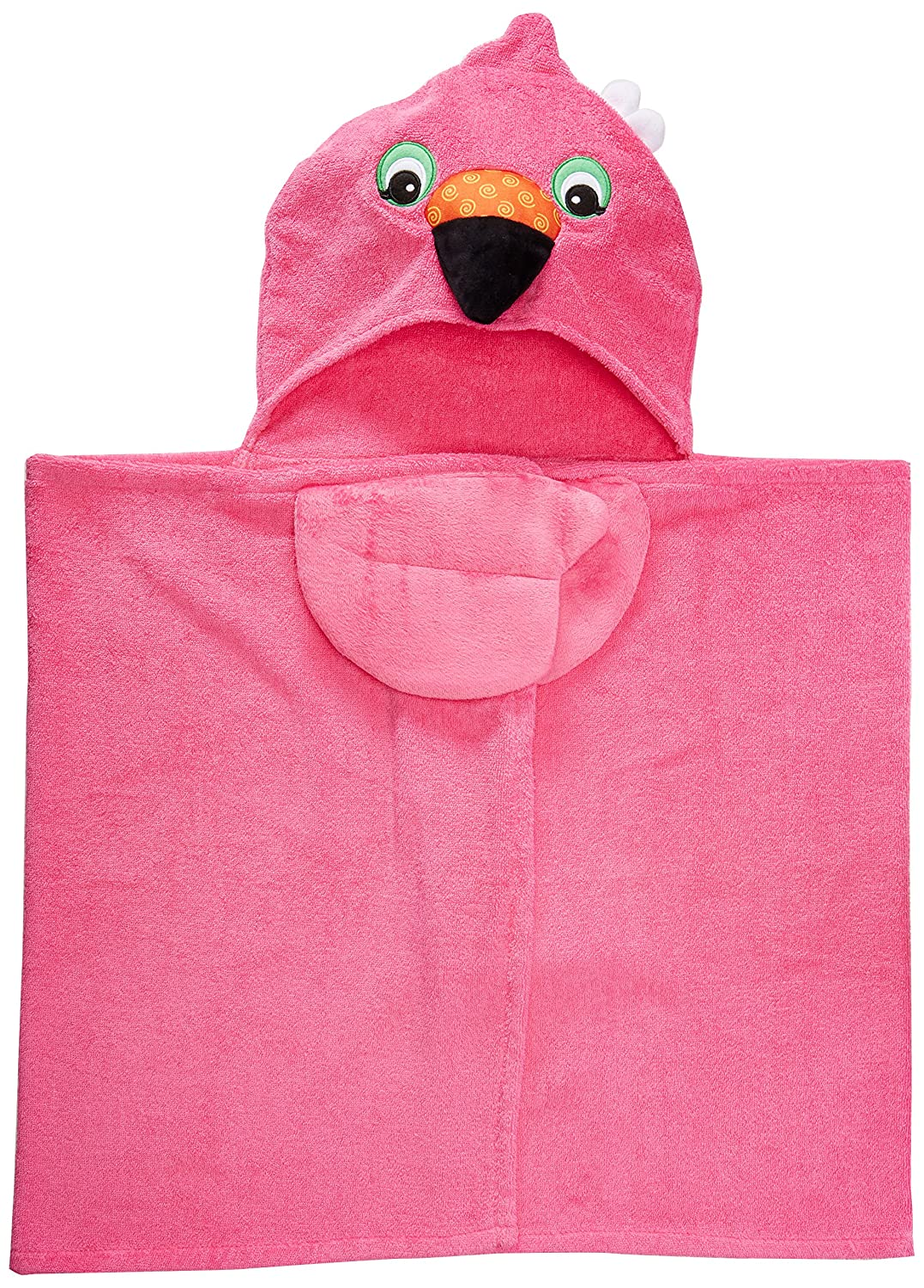 Zoocchini - Toddler Towel - Franny the Flamingo 104