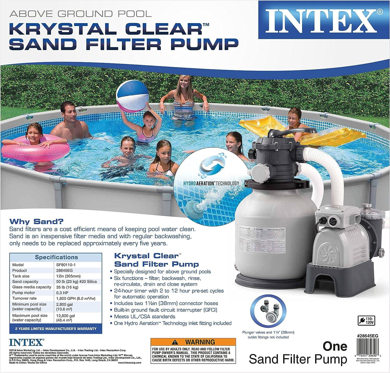 Intex 28645EG - Bomba de agua (590,5 x 390,5 x 565 mm): Amazon.es: Bricolaje y herramientas