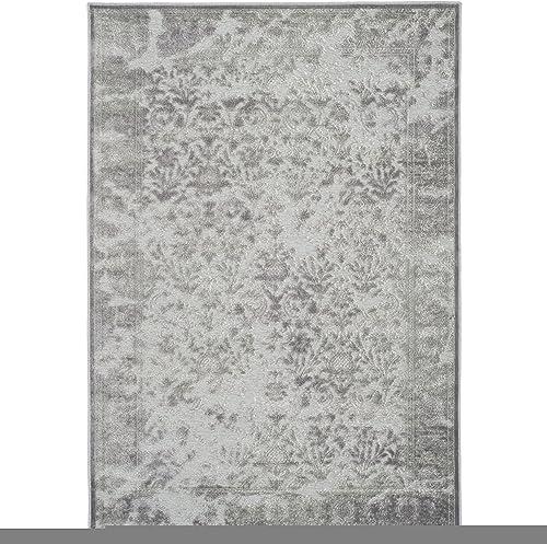 Safavieh Paradise Collection PAR169-2710 Light Grey and Spruce Viscose Area Rug 8' x 11'2″