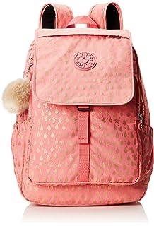Kipling Haruko Mochila escolar, 41 cm, 25 liters, Rosa (Pink Gold Drop