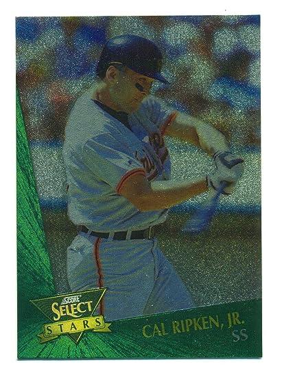 1992 Score Select Stars Cal Ripken Jr 15 Baseball Card At