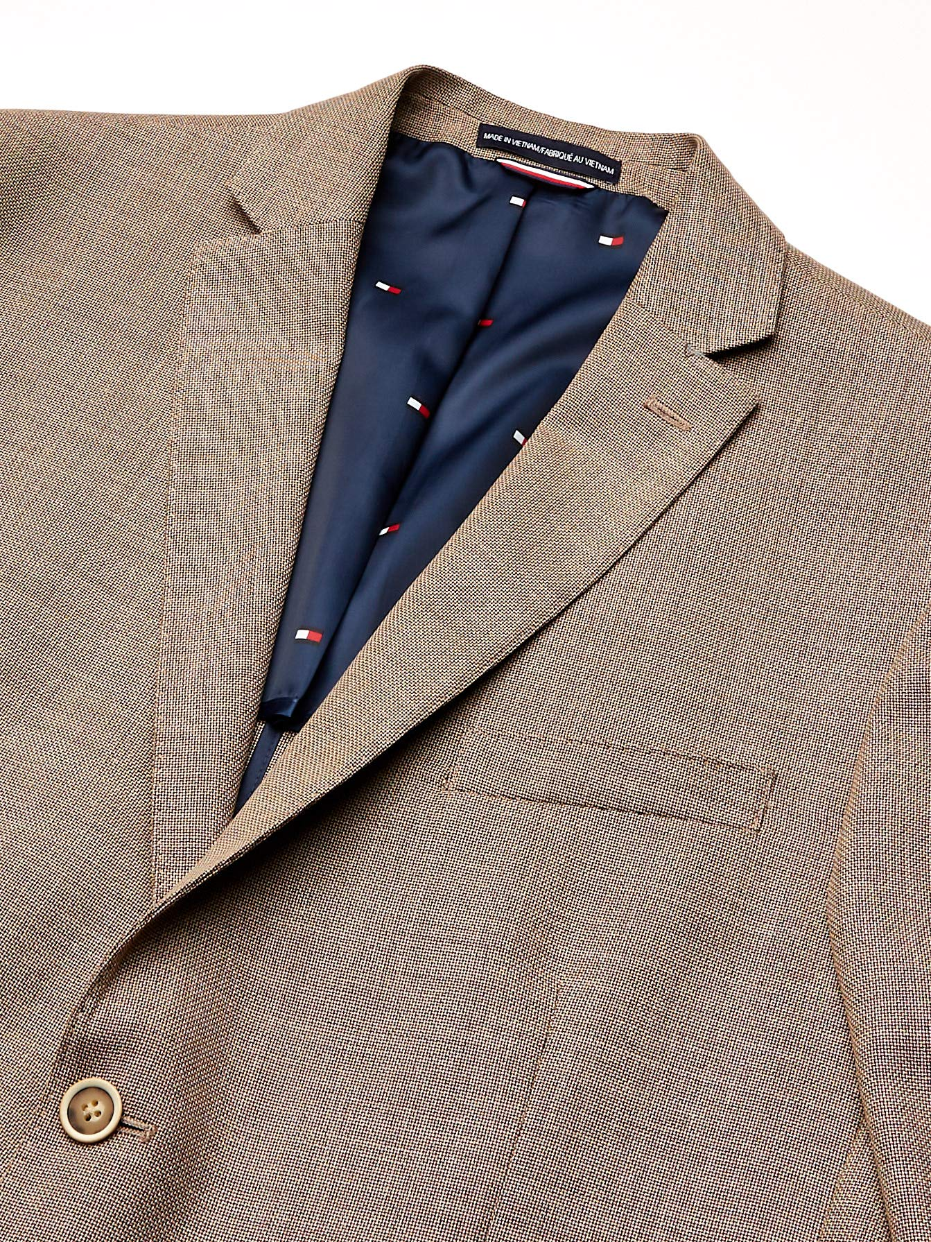 Tommy Hilfiger Men's Big and Tall Modern Blazer, Rustic Brown, 54R by Tommy Hilfiger (Image #3)