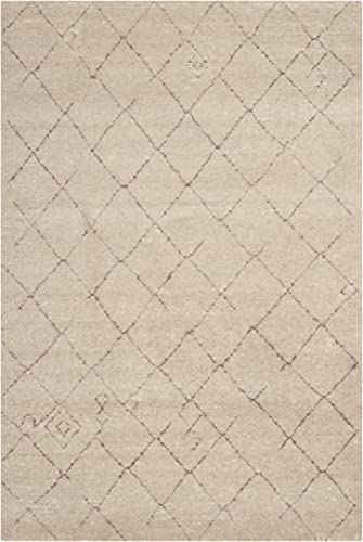 Safavieh Tunisia Collection TUN1511-KMK Ivory Area Rug, 5 feet 1 inches by 7 feet 6 inches 5 1 x 7 6