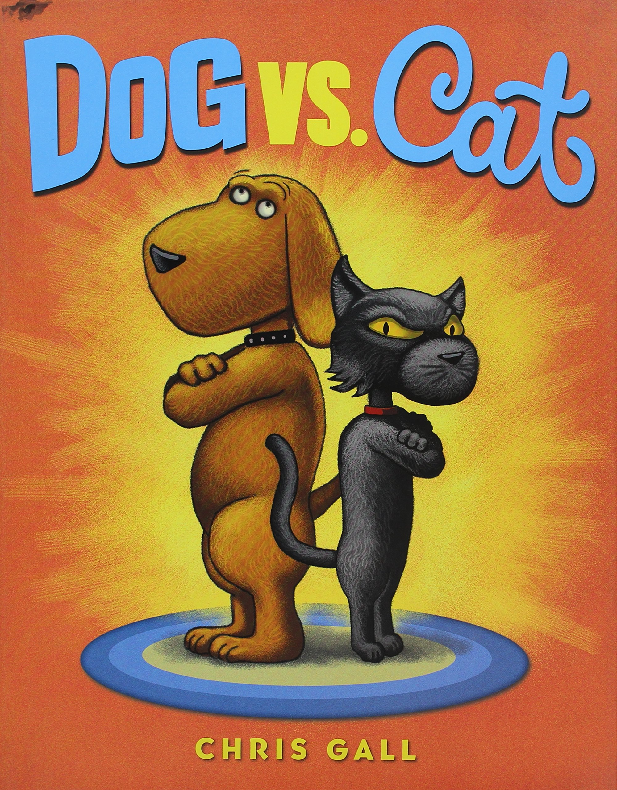 dog vs cat chris gall amazon com books