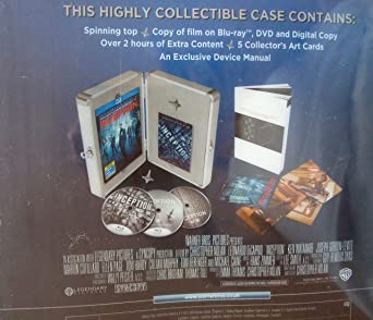 Inception Limited Edition Briefcase - Triple Play Blu-ray + DVD + ...