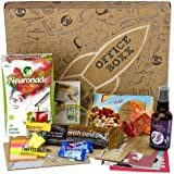 Office Boxx (13 Teile) Büro Geschenk für Kollegen und Mitarbeiter - die BOXX fürs Büro mit Neuronade, gesunden Snacks, Ohropax und Konzentrationshilfen