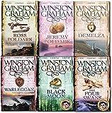 Winston Graham Poldark Volume 1 to 6 Books Collection Set A Novel of Cornwall (Ross Poldark, Demelza, Jeremy Poldark, Warleggan, The Black Moon, The Four Swans)