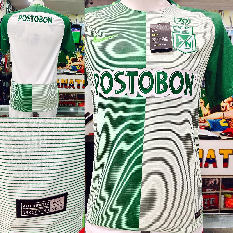 Amazon.com   Atletico Nacional DE Medellin COPA LIBERTADORES Soy DEL Verde  Y Soy Feliz Colombian Jersey Camiseta T Shirt Size Small ONLY   Sports    Outdoors 1b1ecb12eb275