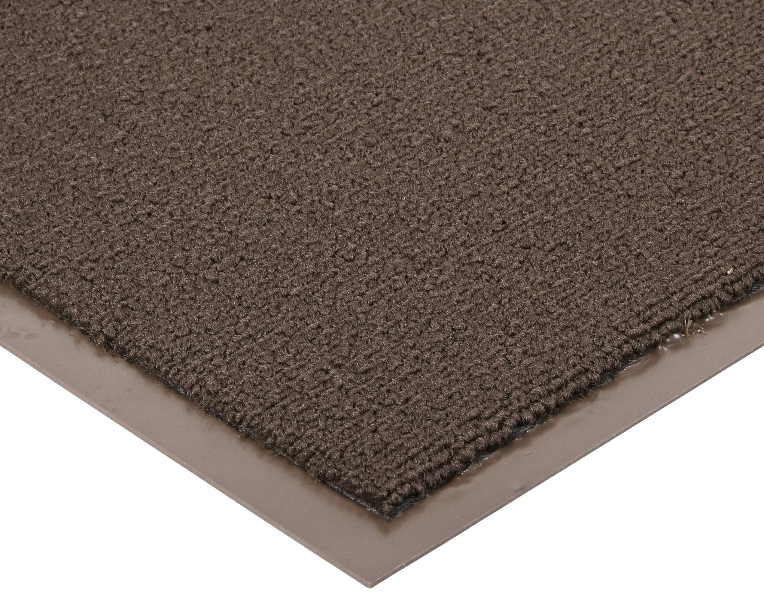 Notrax 137 Opera Entrance Mat, for Upscale Entrances, 3' Width x 12' Length x 3/8'' Thickness, Brown by NoTrax