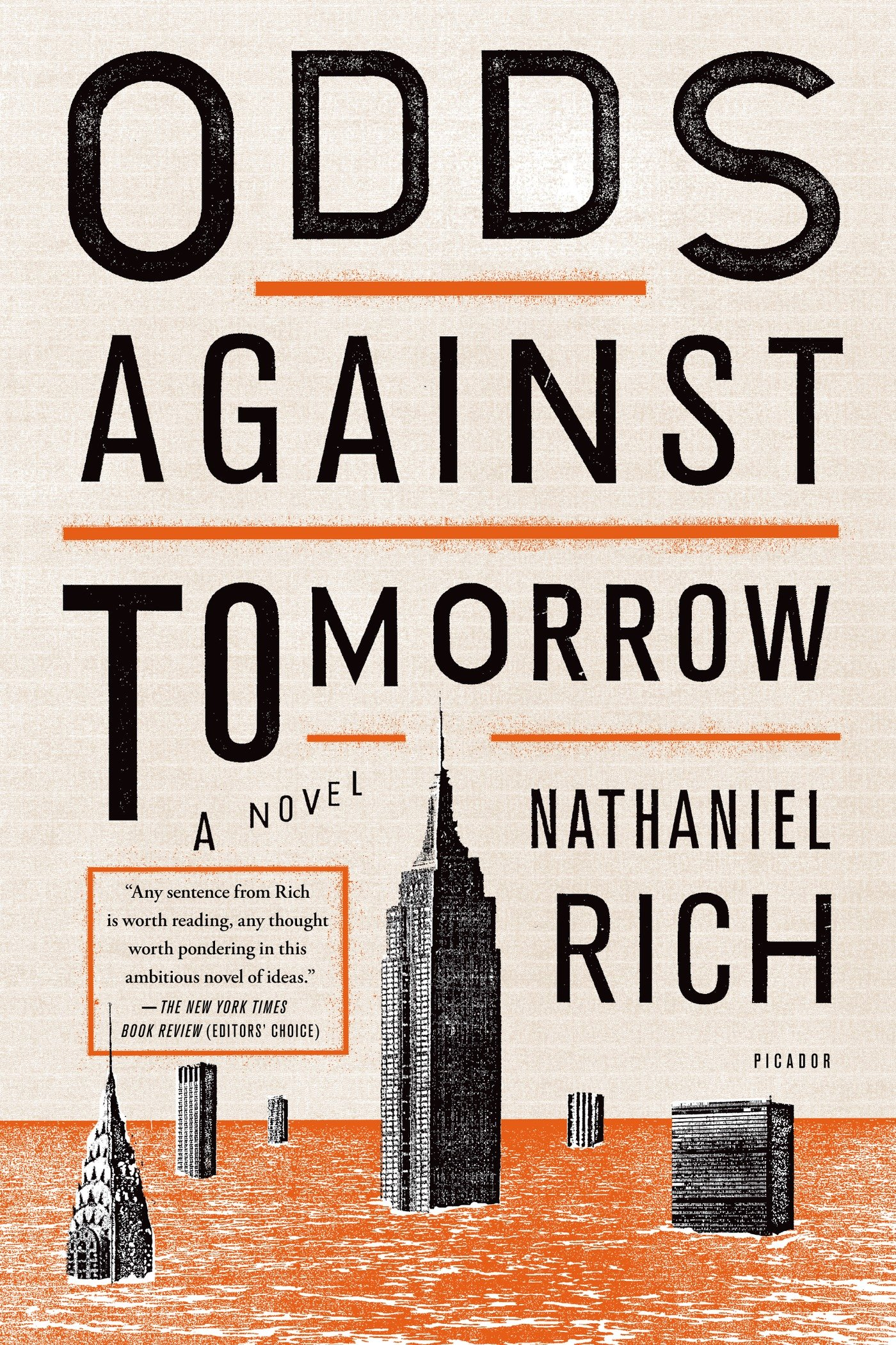 Odds Against Tomorrow: Amazon co uk: Nathaniel Rich