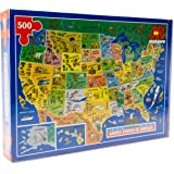 USA Map Jigsaw Puzzle by James Hamilton Grovely