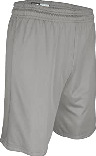 "product image for MM-6477P-CB Men's 7"" Micro Mesh Nylon Solid Short (Large, Grey)"