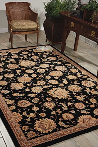 Nourison Nourison 2000 Black Rectangle Area Rug, 2-Feet by 3-Feet 2 x 3