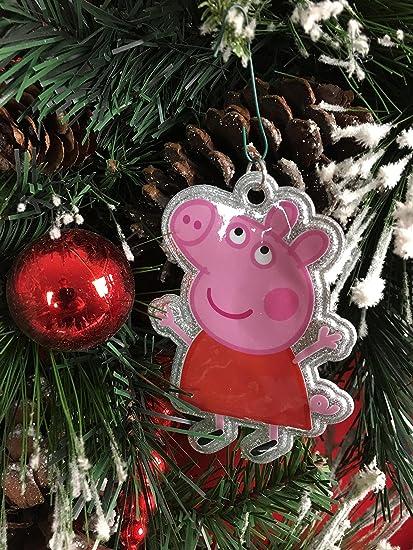 peppa pig christmas ornament