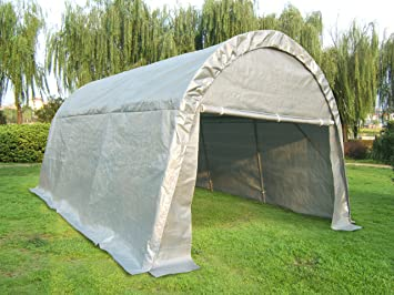Quictent 20u0027X13u0027x10u0027 Heavy Duty Carport Canopy Garage Shelter for Truck/ : boat carport canopy - memphite.com