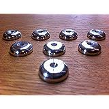 Solid Spikes - Lote de 8 discos protectores para puntas de desacoplo