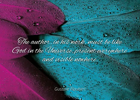 4804c36c8f Amazon.com  Home Comforts Gustave Flaubert - Famous Quotes Laminated Poster  Print 24x20 - The Author