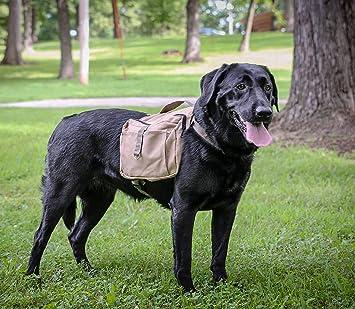 Amazon.com : Pup Science Khaki RANGER - Dog Backpack Hiking ...