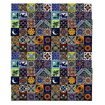 Cerames Saburo Azulejos Decorativos De Colores De La