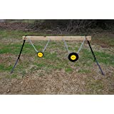 "Viking Solutions Gong Stand Target System - Includes 6 & 10"" AR500 Gongs!"