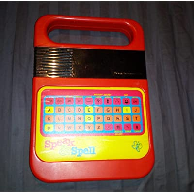 Speak & Spell Texas Instruments Ti Classic Electronic Toy and Game: Toys & Games