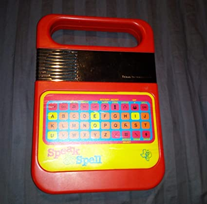 Speak & Spell Texas Instruments Ti Classic Electronic Toy and Game