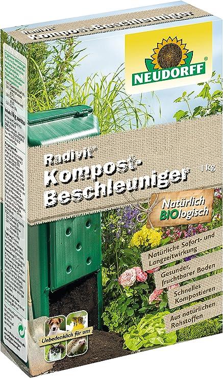 acelerador de compostaje Neudorff radivit –: Amazon.es: Electrónica
