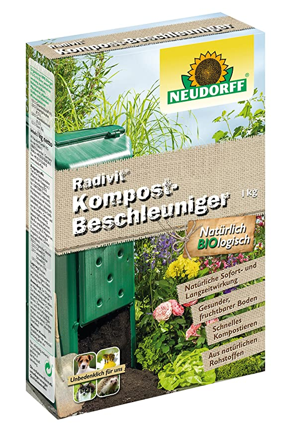 Neudorff 87204 - Radivit Compost - Acelerador compostaje: Amazon ...