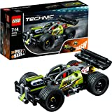 LEGO Technic Whack Racer Car Building Blocks for Boys 7 to 14 Years (135 Pcs) 42072 (Multi Color)