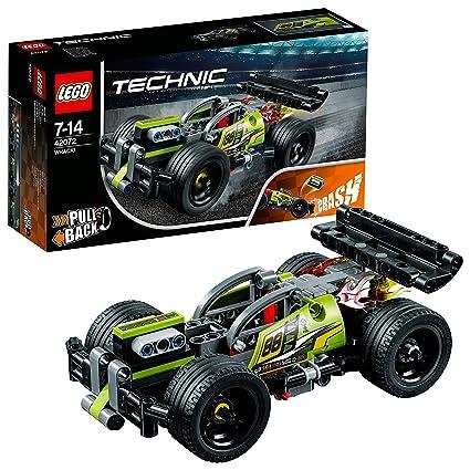 LEGO Technic Whack Racer Car Building Blocks for Boys 7 to 14 Years (135 Pcs) 42072 (Multi Color) Model Car & Vehicle Kits at amazon