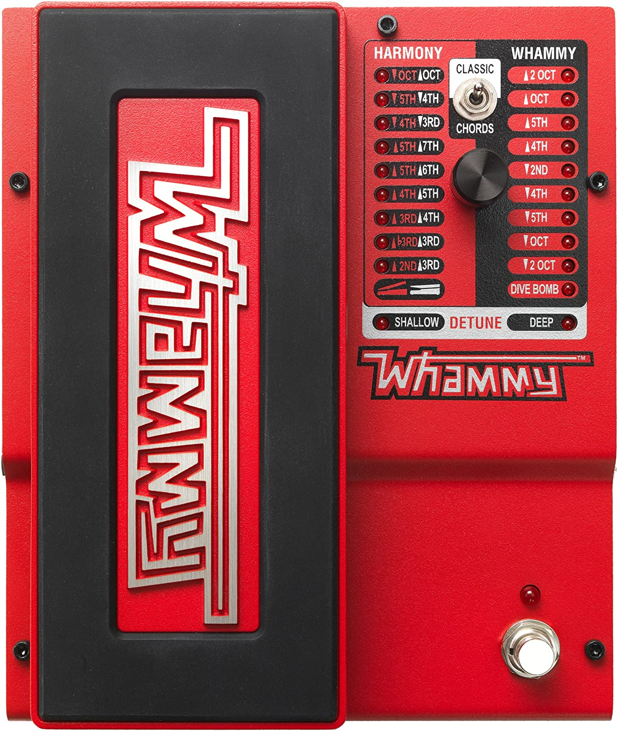 DigiTech Whammyv-01 Guitar Pitch Effect Pedal