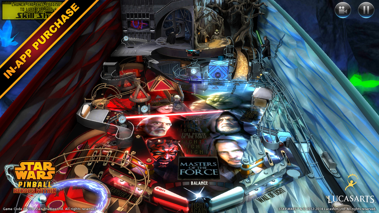 Phone Pinball For Android Phone amazon com star wars pinball 5 appstore for android