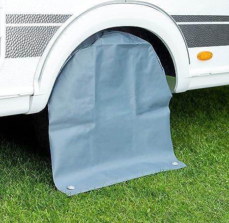 per auto 4x4 Custodia per la ruota di scorta camper e utilitarie con pneumatici di qualsiasi dimensione caravan colore nero