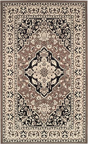 SUPERIOR Hailsham Traditional Floral Medallion Indoor Area Rug