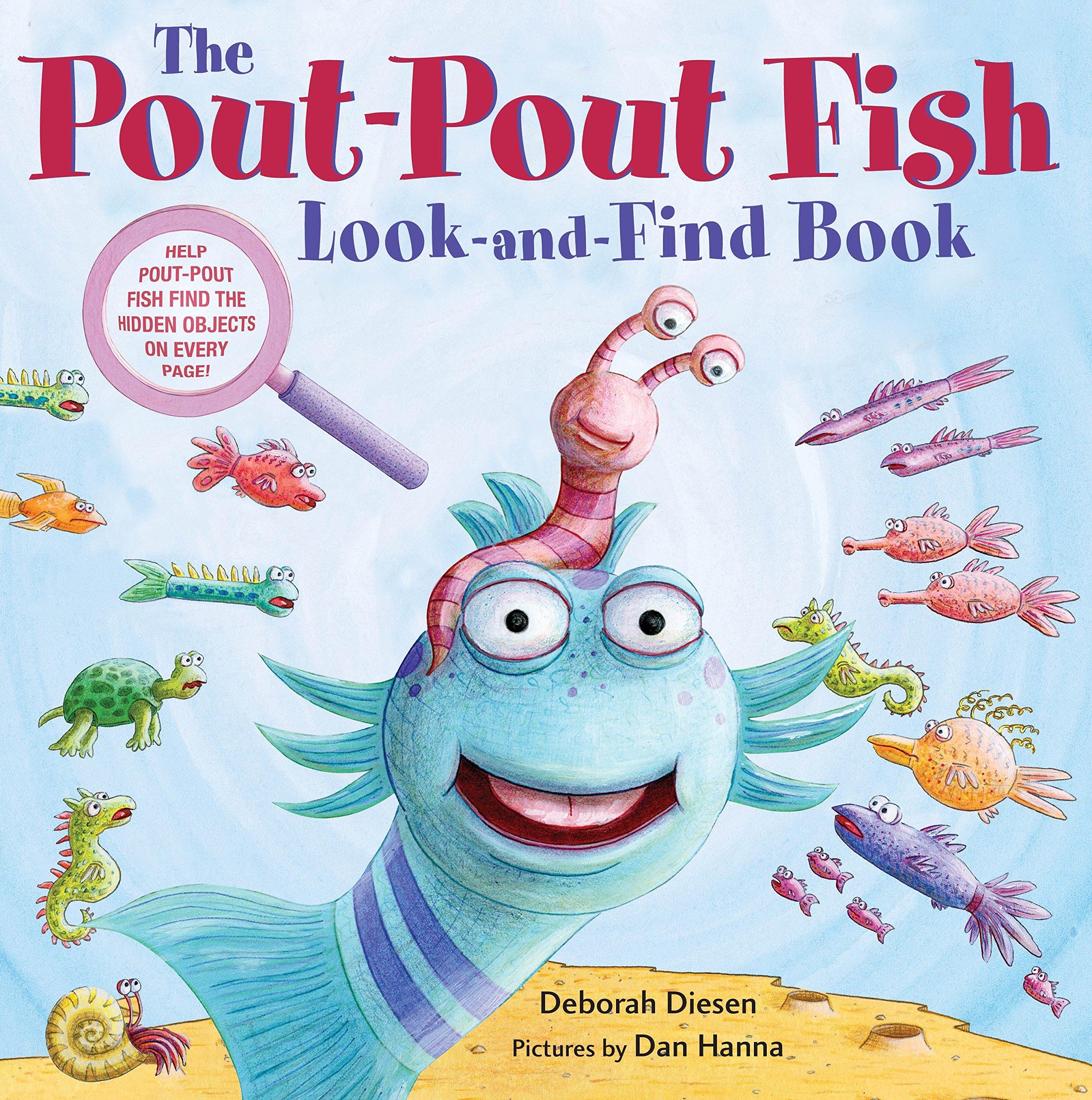 Download The Pout-Pout Fish Look-and-Find Book (A Pout-Pout Fish Novelty) pdf