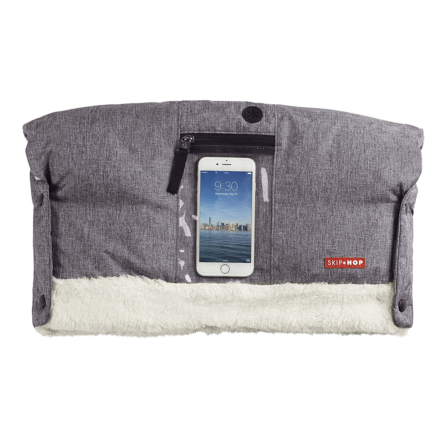 Skip Hop Stroll and GO on Call Hand Muff, Heather Grey 400431