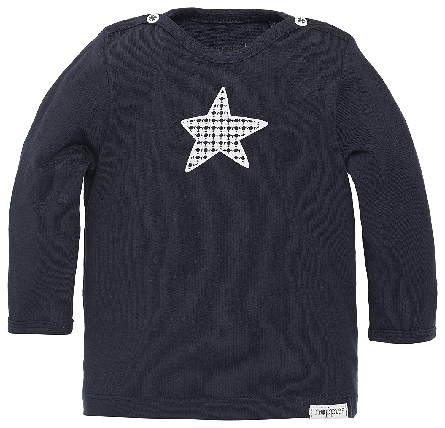 Noppies Baby-Boys B Long Sleeve Monsieur Polo Shirt