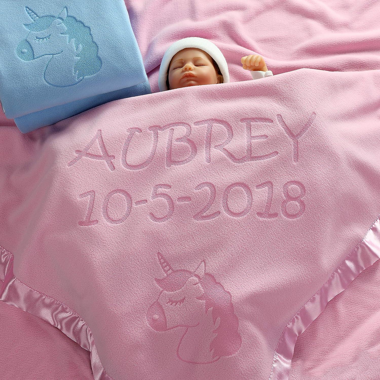 unicorn nursery pink unicorn blanket baby shower gift unicorn baby nursery Blue Unicorn baby blanket pink nursery girl nursery