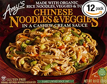 Amazon Com Amy S Organic Chinese Noodles And Veggies In