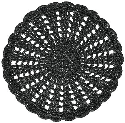 Amazon Heritage Lace Mode Crochet Round Doily 10 Inch