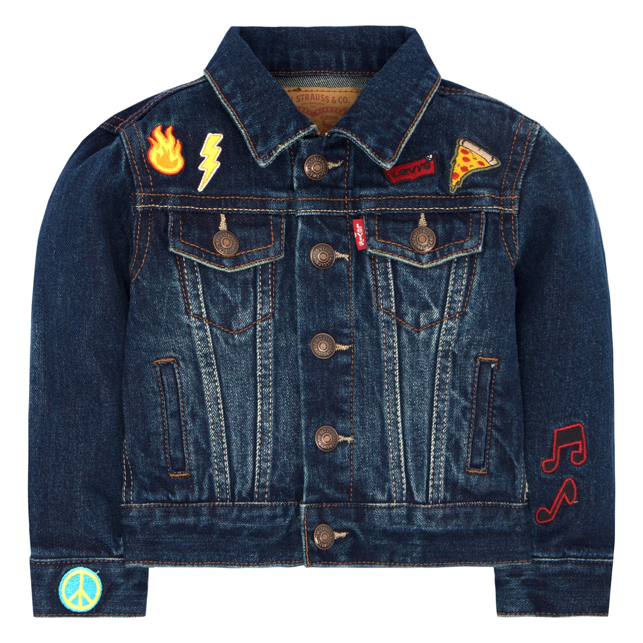 Levi's Baby Boys' Trucker Jacket, Stormy River, 6/9M by Levi's