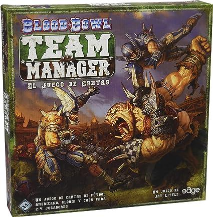 Amazon.com: Blood Bowl: Team Manager – El juego de cartas ...