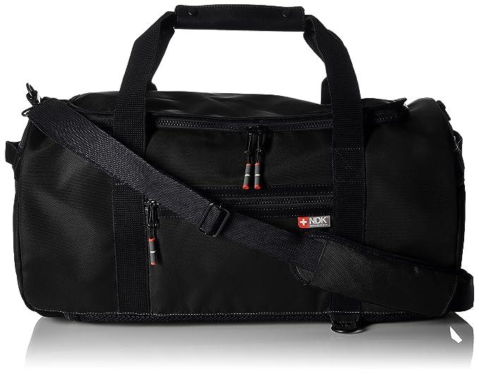 1e0bb51eb NDK mens Capital Collection Convertible Duffel Bag Duffel Bags - black -:  Amazon.co.uk: Clothing